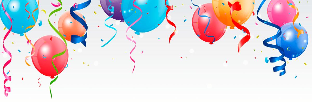 Imagem de balões de Festa